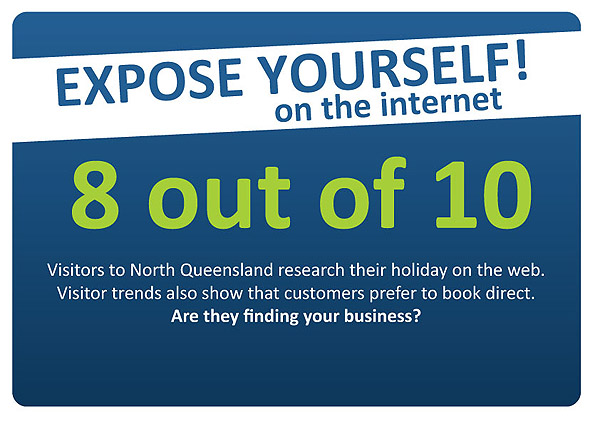 Expose your tourism business to the web