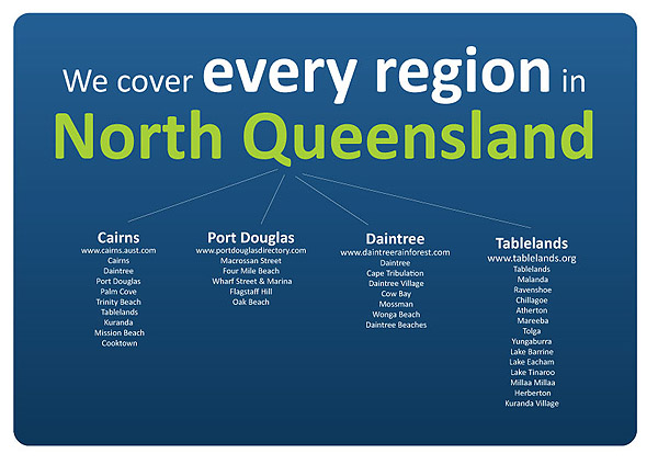 We cover every region in North Queensland